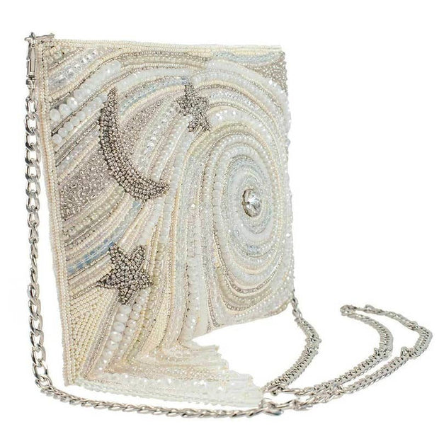 Handmade Swarovski Ivory Galaxy Handbag - Joy of London Jewels