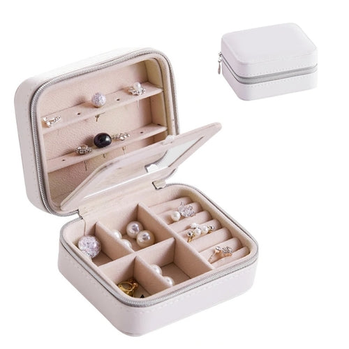 A Travel Sized Compact Jewelry Box