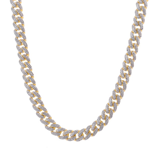 Men's CAMEO 12MM Miami Cuban Chain - Joy of London Jewels
