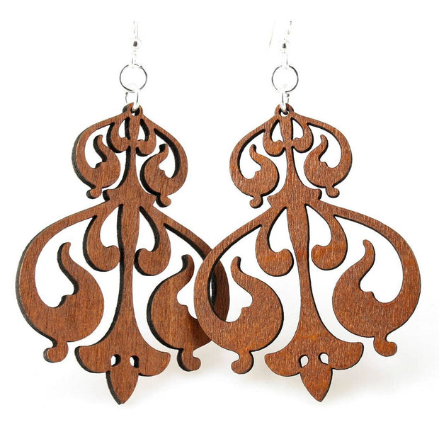 Rorschach Ink Design Earrings - Joy of London Jewels