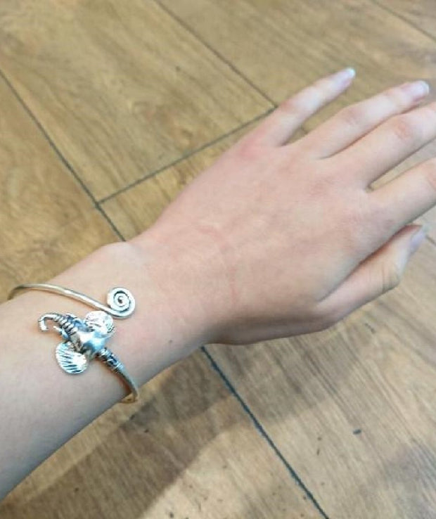 Elephant Bangle Bracelet - Joy of London Jewels