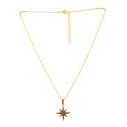 SALE   Handmade 14K Yellow Gold Natural Ethically Mined Black Diamond Necklace Pendant - Joy of London Jewels