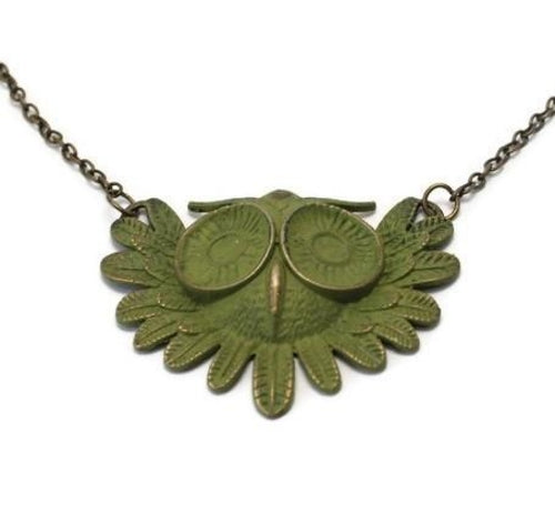 Court House Manor Owl Necklace - Joy of London Jewels