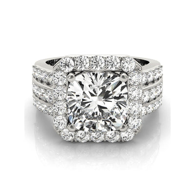 A Flawless 3CT Round Cut Belgium Lab Diamond Engagement Ring - Joy of London Jewels