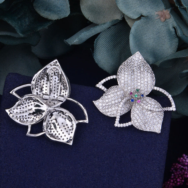 Celebrity Inspired Floral Earrings - Joy of London Jewels