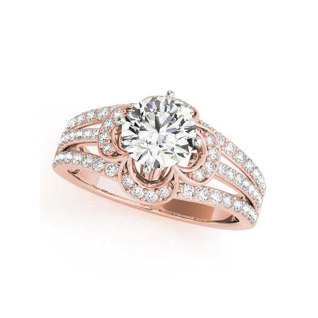 A Flawless 1CT Round Cut Belgium Lab Diamond Engagement Ring - Joy of London Jewels