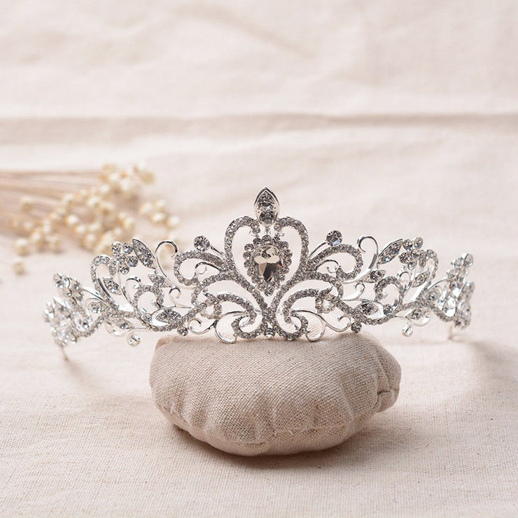 LIMITED EDITION Silver Bridal Headband Tiara with Crystals - Joy of London Jewels