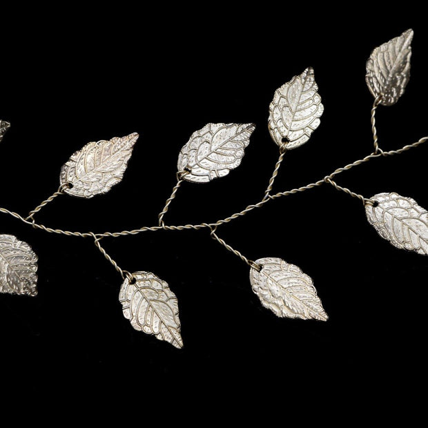 SALE  Vintage Style Italian Leaf Hair Vine - Joy of London Jewels