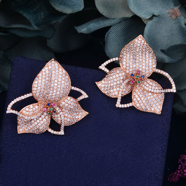 Celebrity Inspired Floral Earrings