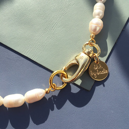 Pearl Hardware Necklace - Joy of London Jewels