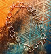 Linked Heart Chakra Necklace