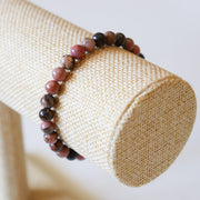 Bracelet en Rhodonite – Perles 6mm