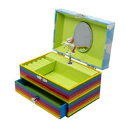 Rainbow Unicorn Music Jewelry Box - Joy of London Jewels