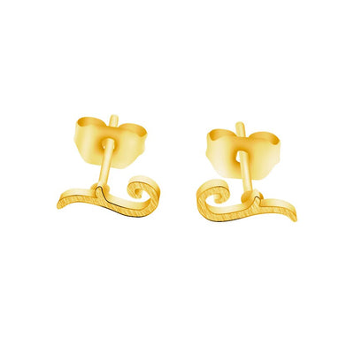 Minimalist Scroll Earring - Joy of London Jewels