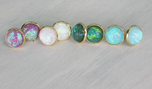 Opal Domes In Gold - Joy of London Jewels