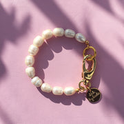 Handmade Pearl Hardware Bracelet - Joy of London Jewels