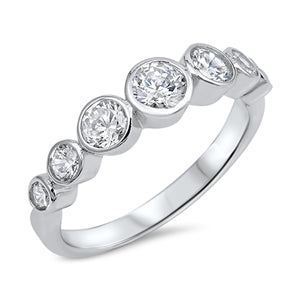 A Perfect 2.98TCW Round Cut Russian Lab Diamond Engagement Ring