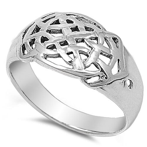 Men's Celtic Wedding Band Ring