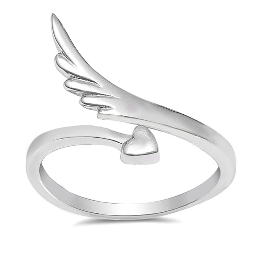 Wings of Love Wrap Ring
