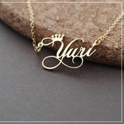 Personalized Customized Cursive Name Necklace - Joy of London Jewels
