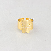 Statement Minimalist Owl Rings - Joy of London Jewels