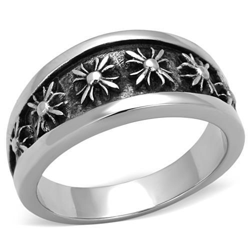 Men Stainless Steel Epoxy Rings - Joy of London Jewels