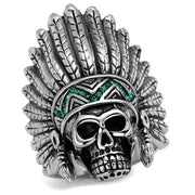 Skeleton Feather Ring