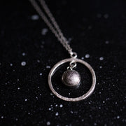 Gibeon Meteorite Orbit Necklace