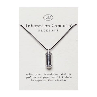 Intention Capsule Necklace - Joy of London Jewels