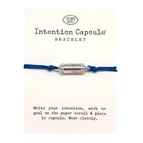 Intention Capsule Silver Bracelet - Joy of London Jewels
