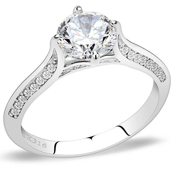 1.2CT Round Cut Solitaire Russian Lab Diamond Engagement Ring - Joy of London Jewels