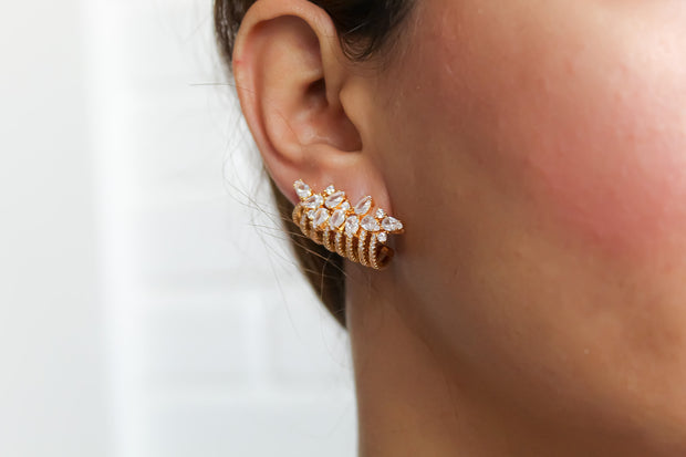 London Climber Earrings
