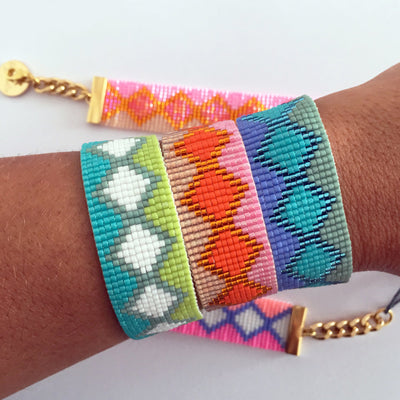 Hand Woven Colorful Rio and Ibiza Bracelets