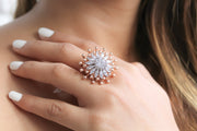 Tear of Joy Splash Ring - Joy of London Jewels