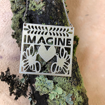 IMAGINE Pendant Necklace