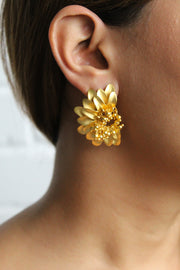 Liza Sunflower Earrings - Joy of London Jewels