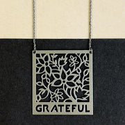GRATEFUL Pendant Necklace