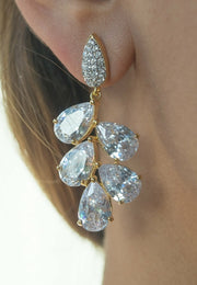 Serena Earrings  - Bridesmaid - Bridal Earrings - Joy of London Jewels
