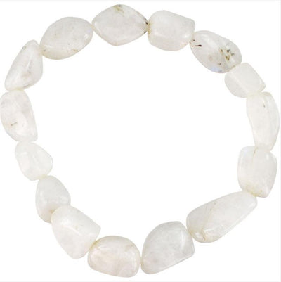 Genuine Tumbled Crystal Quartz Bracelet - Joy of London Jewels
