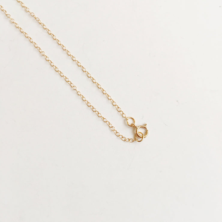 SALE  14K Yellow Gold Love Necklace - Joy of London Jewels