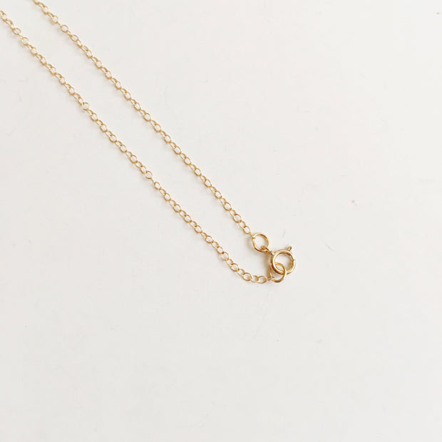 Mini Black Druzy 14k Gold Filled Necklace - Joy of London Jewels
