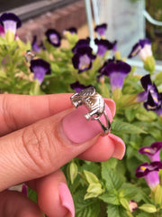 Sterling Silver Elephant Ring