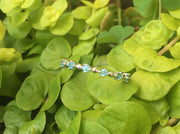 Natural Aquamarine Sterling Silver Ring - Joy of London Jewels