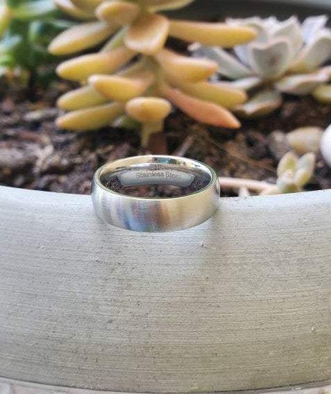 Satin Finished Men's Ring