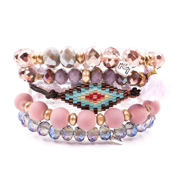 The Indian Summer Bracelet Set - Joy of London Jewels