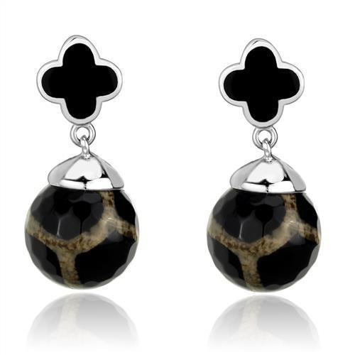 Black Onyx Earrings - Joy of London Jewels