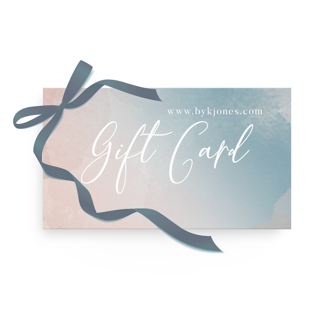 Shopping for someone else but not sure what to give them? Give them the gift of choice with a K. Jones gift card.