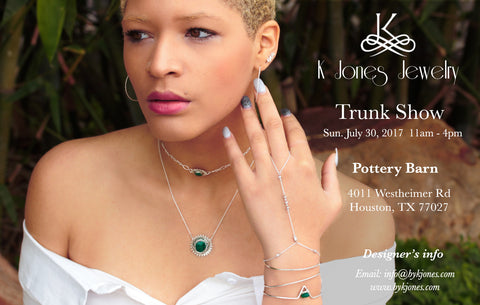 Jewelry Trunk Show - Trunk Show Flyer