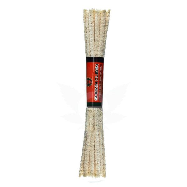 Smokin Clean Soft Cotton Pipe Cleaners - 24 Bundles