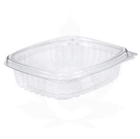 8 oz Plastic Hinged Lid Edible Container